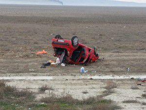 112 doktoru trafik kazasında yaralandı