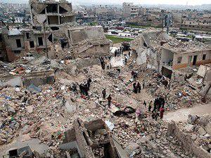 Savaş uçağı hastaneyi bombaladı