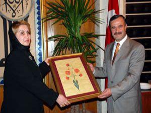Afganistan Parlamento Heyeti Büyükşehir'de