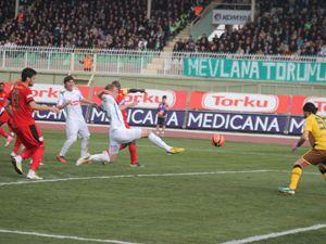 T.Konyaspor evinde kazandı