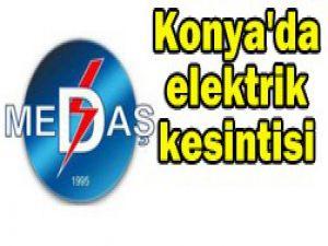 Bu bölgelerde elektrik kesintisi var