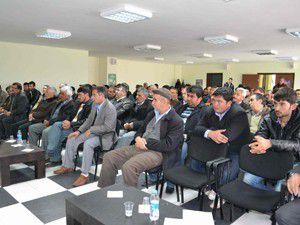 Ereğlide çiftçilere bilgilendirme toplantısı