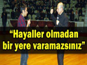 """Konyada """"YGSde başarı"""" konferansı"""