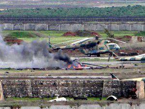 ÖSO askeri helikopter düşürdü