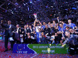 CEV Kupasını alan ilk Türk takımı
