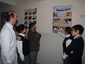 Beyşehirde bilim yolu sergisi