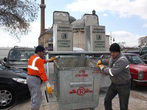 2012de 63 konteynır yer altına alındı
