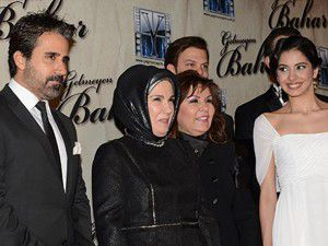 Emine Erdoğan galaya katıldı
