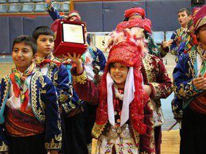 Halk oyunları ekibi Konya birincisi oldu