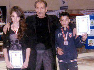 Sporcular Muay Thaide Türkiye 3üncüsü oldu