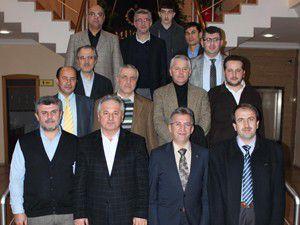 SADAV Başkanı Ercan Uslu MÜSİADı ziyaret etti