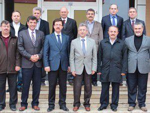 Konya Platformu Yönetiminden MÜSİADa ziyaret