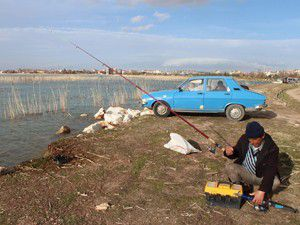 Beyşehir Gölünde 45 gün olta avı yasak