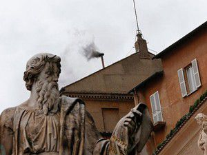 Vatikandan yine siyah duman çıktı