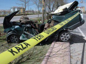 Haftanın ilk ve son günü kaza sayısı artıyor