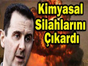 Suriyede iç savaş 3üncü yılına girdi..