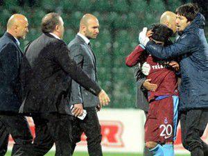 Trabzonda iki oyuncu kavga etti!