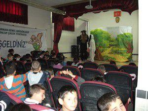 Beyşehir Orman İşletmesinden tiyatro şenlikleri