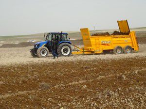 Cihanbeylide çiftçilere destek
