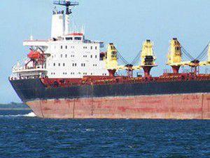 Gürcü askeri Türk gemisine el koydu