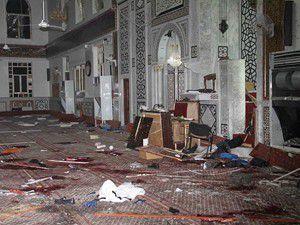 Şamda bir camiye intihar saldırısı düzenlendi