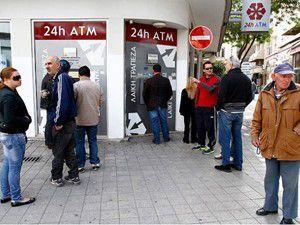 Güney Kıbrısın parası kalmadı