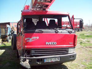 Konyada trafik kazası: 1 ölü, 4 yaralı