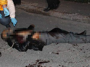 Sokakta ölü bulundu