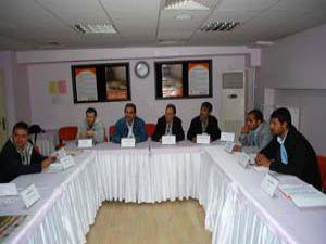 Konyada gazetecilere ilk yardım eğitimi veriliyor