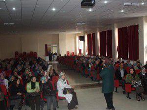 Derbentte Anne Baba Eğitimi konulu seminer