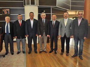 Dolmacı, Başkan Mehmet Hançerliyi ziyaret etti