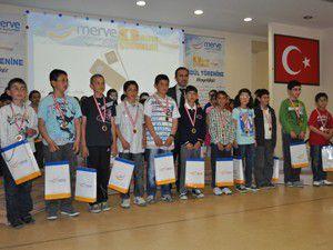 Merve Eğitim Kurumları Altın Çocuklar Yarışması
