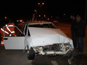 Ankarada otobüs kazası çok sayıda yaralı var