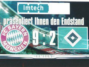 Bayern Hamburger yedi!