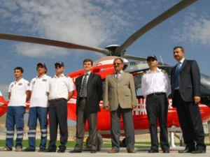 Ambulans helikopter iyi iş çıkardı
