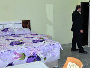 Mahkumlar eşleriyle bu odada görüşecek