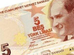 5 Liralık Banknotlar Morardı