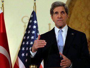 Kerry, Davutoğlu ile görüşecek