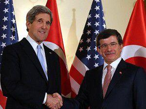 Davutoğlu, Kerry ile Ortadoğuyu görüşecek