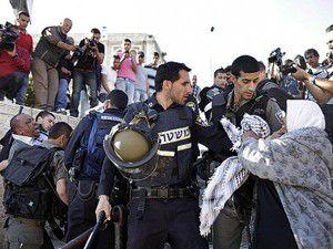 Kudüste yine çatışma