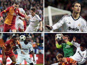 Galatasaray deplasmanda Real Madride 3-0 yenildi
