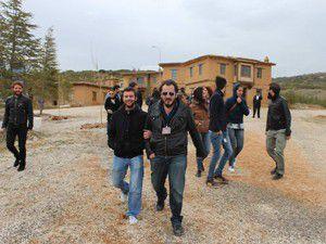 Üniversite öğrencileri Şükran Köyünde