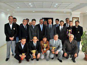 Futbol turnuvası şampiyonu belirlendi