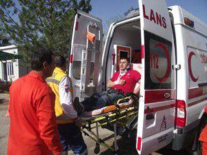 Kuluda trafik kazası: 2 yaralı