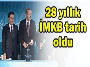 Açılış gongunu Başbakan Erdoğan çaldı