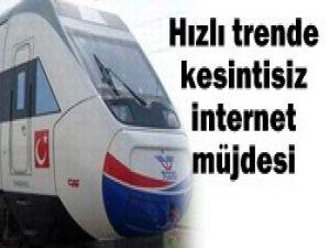 YHTde internet müjdesi