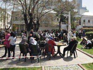 Akşehirde Nihat Hatipoğlu izdihamı