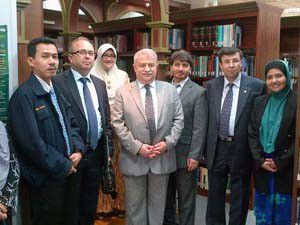 NEÜ Malezyaya işbirliği ziyareti gerçekleştirdi