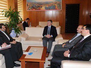 D8 Genel Sekreteri Musavi, Akyüreki Ziyaret etti