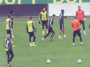 Real Madrid hazırlıklarını tamamladı